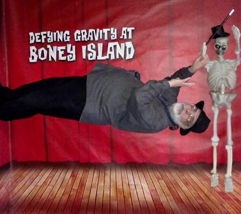 Anti-gravity at Boney Island