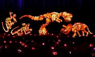 Rise of the Jack O'Lanterns dinosaurs