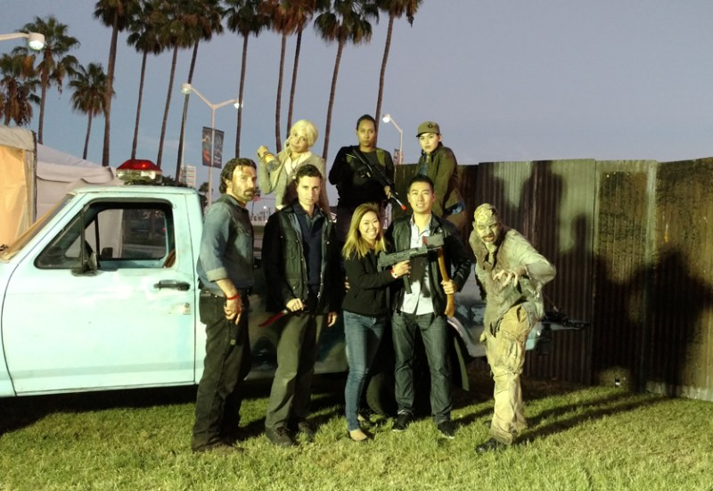 Long Beach Zombie Fest 2016 Review Hollywood Gothique correspondent joins the Walking Dead