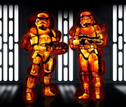 Rise of the Jack O'Lanterns storm troopers