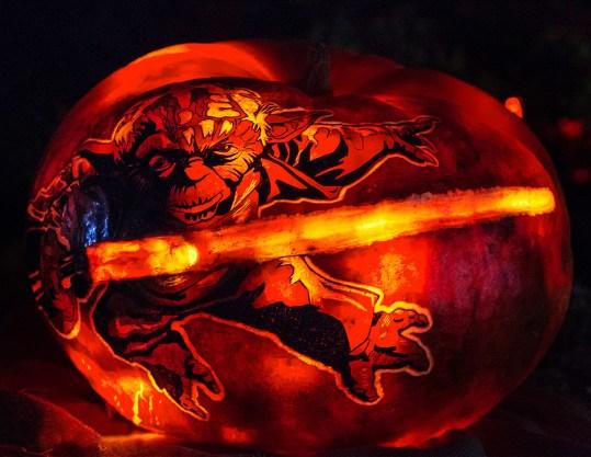 Rise of the Jack O'Lanterns yoda