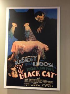 The Black Cat (1934) poster in lobby of NoHo 7