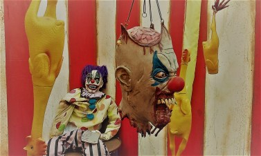 "Castle Dark 2017 ""Slaughter clown head"