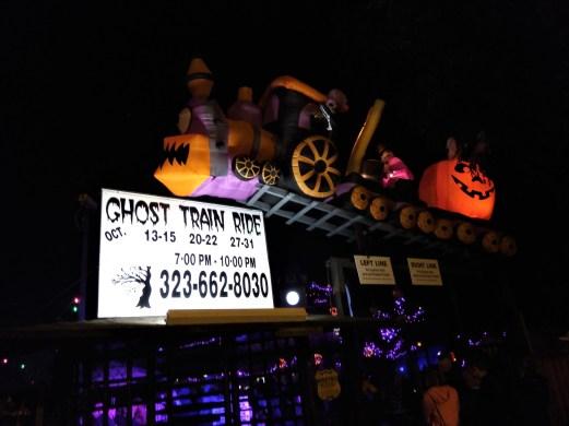 Griffith Park Ghost Train 2017