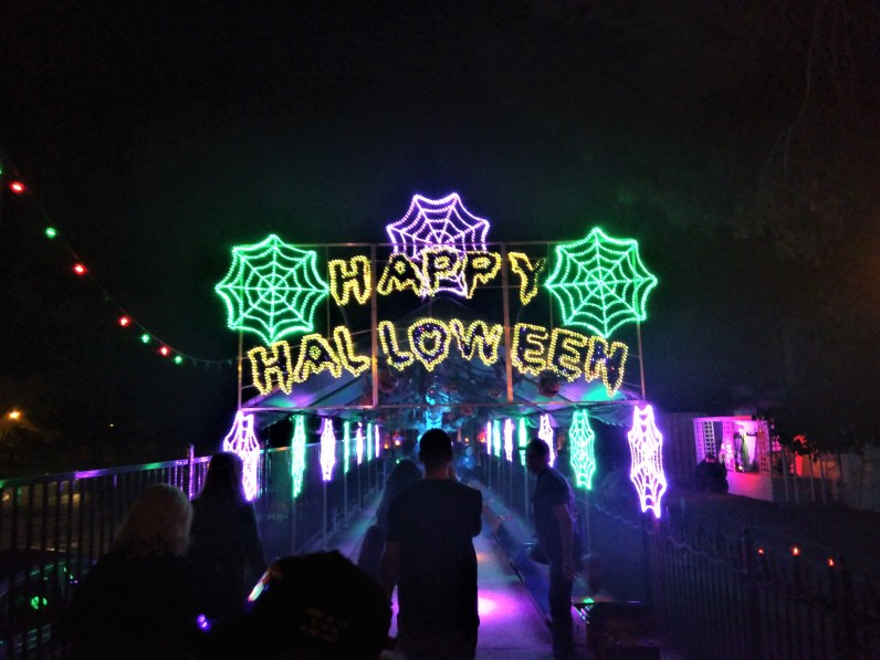 Griffith Park Ghost Train 2017