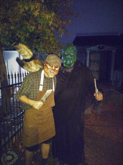 Haunted Rose 2017 two monsters