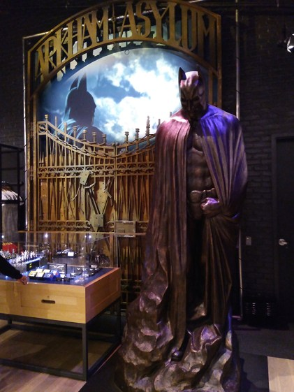 Warner Brothers Studio Tour gift store Batman