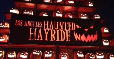 Los Angeles Haunted Hayride 2017 Jack O'Lanterns 2