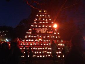 Los Angeles Haunted Hayride 2017 Jack O'Lanterns