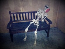Rosehill Haunt 2017 skeleton