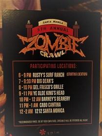 Santa Monica Zombie Crawl 2017 Q