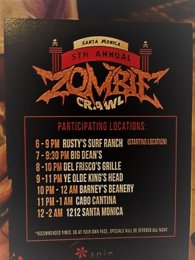Santa Monica Zombie Crawl 2017 Q