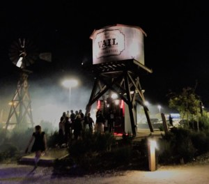 Sinister Valley Haunted House 2017 Review Vail water tower