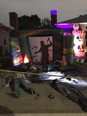 Burbank Halloween home haunt 2017