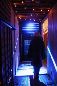 Kaidan Project Walls Grow Thin hallway outside tea room
