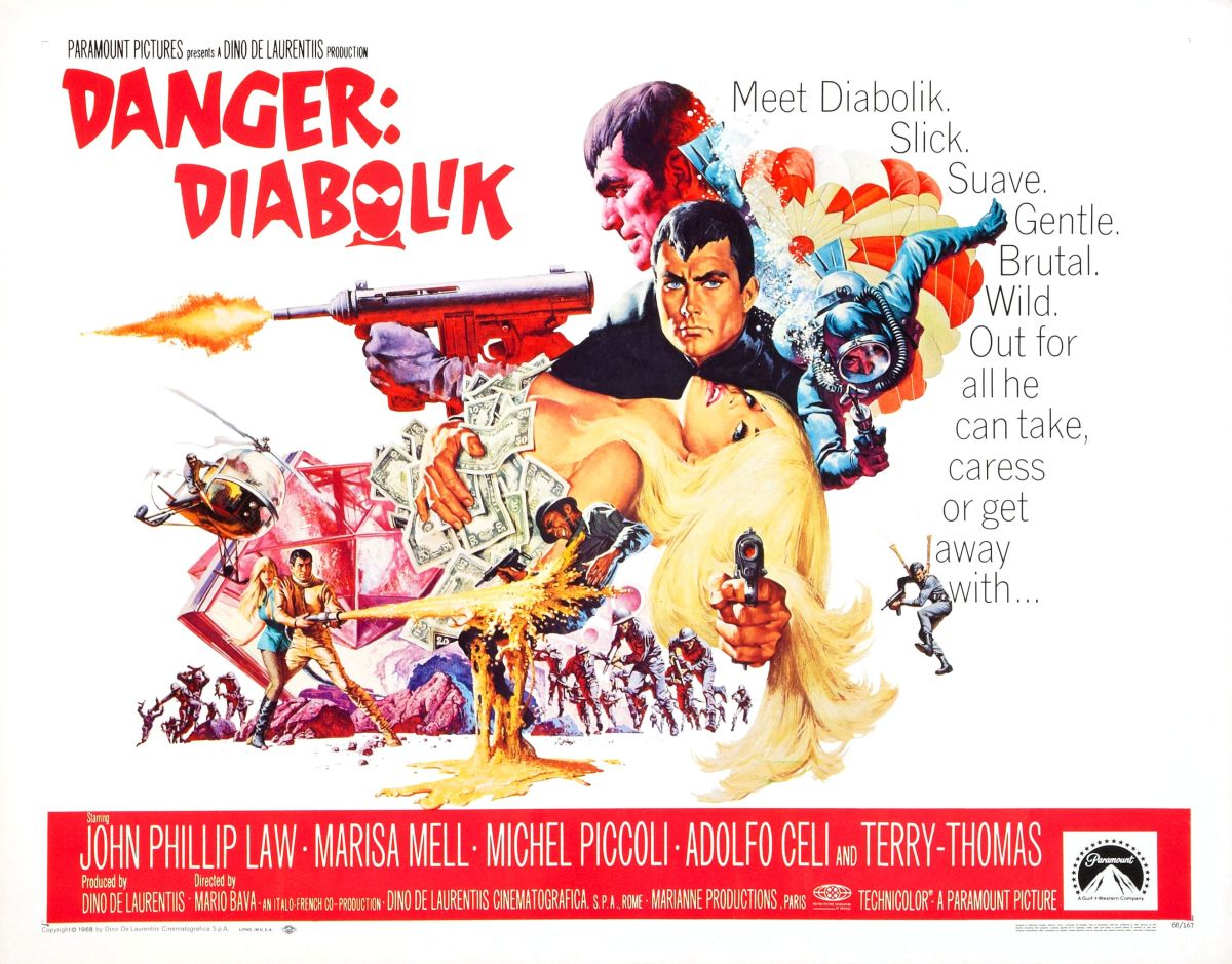 Midnight: 'Danger: Diabolik' at New Beverly