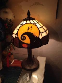 Nightmare Before Christmas lamp
