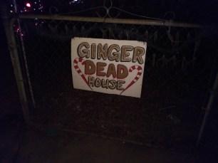 Gingerdead sign