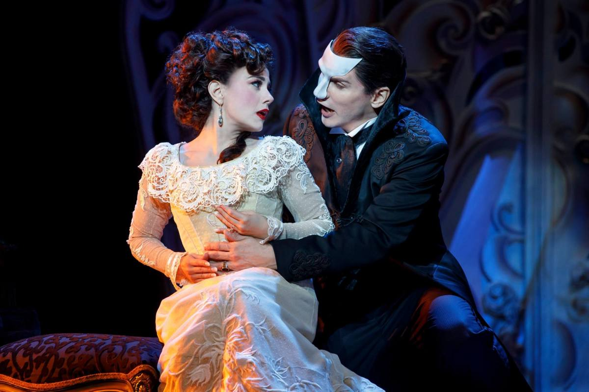 Love Never Dies at the Pantages