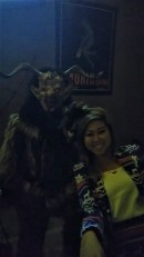 Krampus with guest