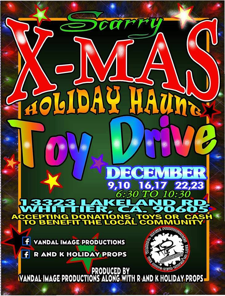 Gingerdead Krampus Maze & Holiday Haunt Toy Drive