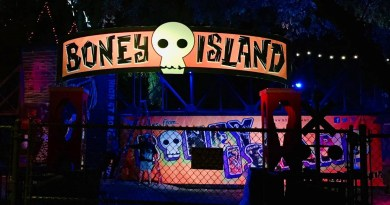 Boney Island 2018 pirate area