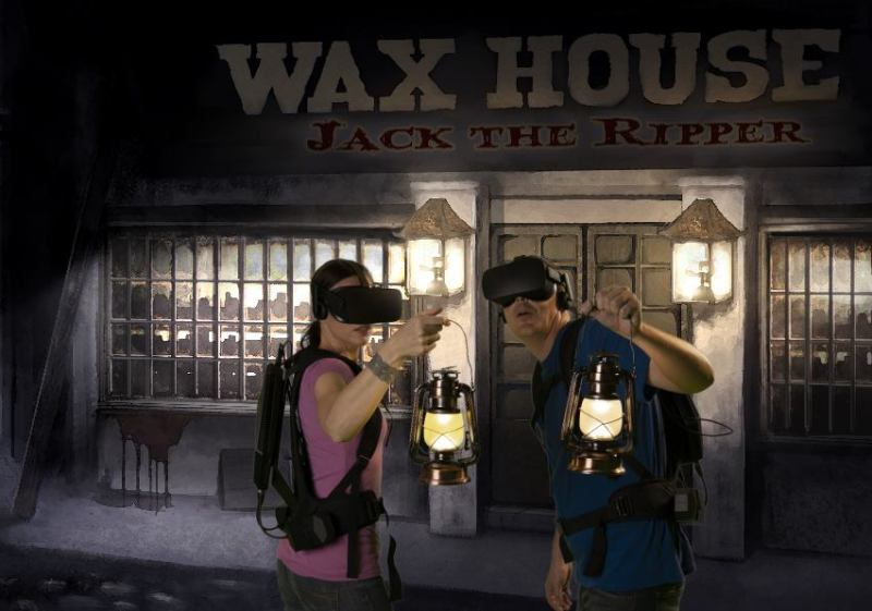 Jack the Ripper Virtual Reality Haunted House Review