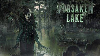 Forsaken-Lake w logo Knotts Scary Farm 2018 review