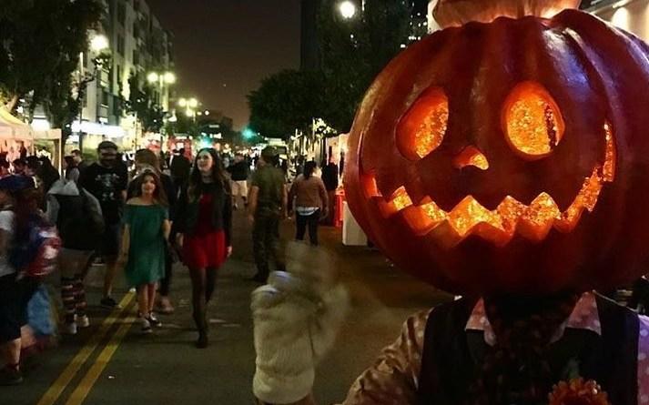 Haunted Little Tokyo Block party 2017