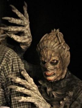 Into the Black monster at HorrorWorld 2018