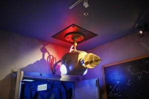 Knotts Scary Farm Virtual Reality Arcade reception area