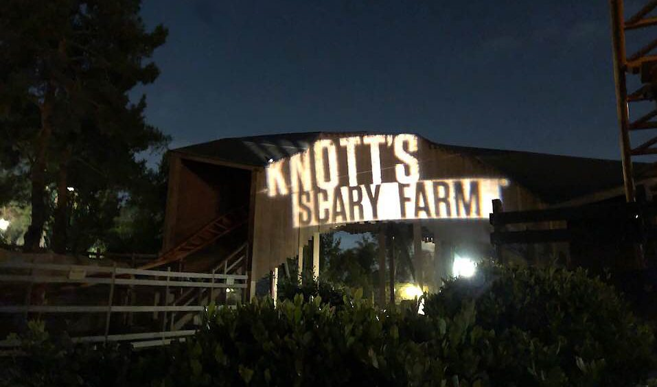 Knotts Scary Farm 2018 photographs