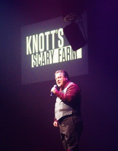 Jeff Tucker at Knotts Scary Farm Preview 2018