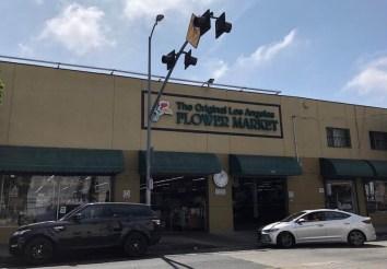 Los Angeles Flower Market 2018