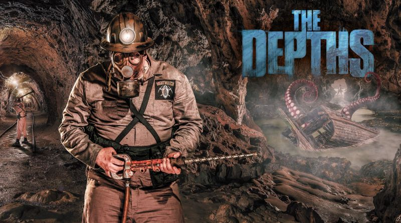The Depths artwork Knotts Scary Farm