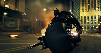 dark knight bat pod