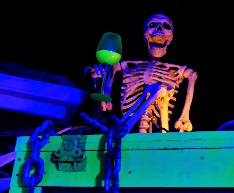 Club Fear 2018 skeleton