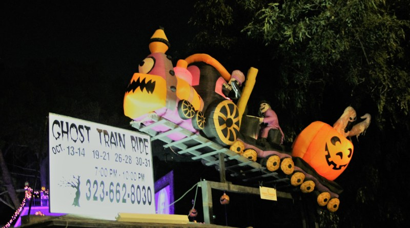 Ghost Train 2018 Entrance