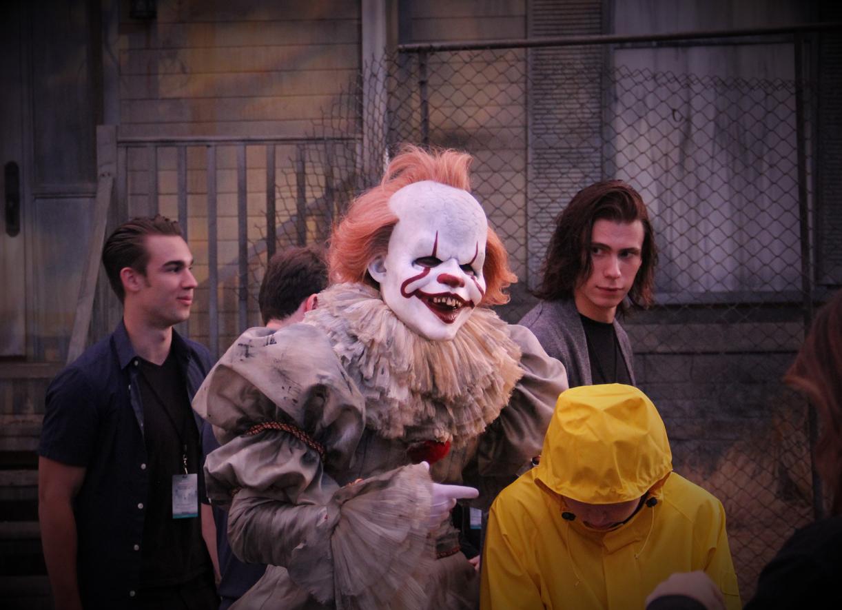 Warner Bros Horror Made Here 2018 Pennywise Georgie