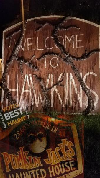 Pumkin Jack's Haunted House 2018 Hawkins