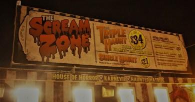 Scream Zone Halloween Haunt 2018