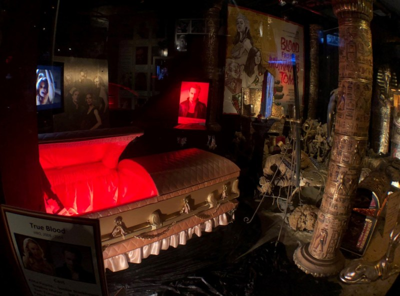 Hollywood Museum Monsters Mummies and Mayhem True Blood