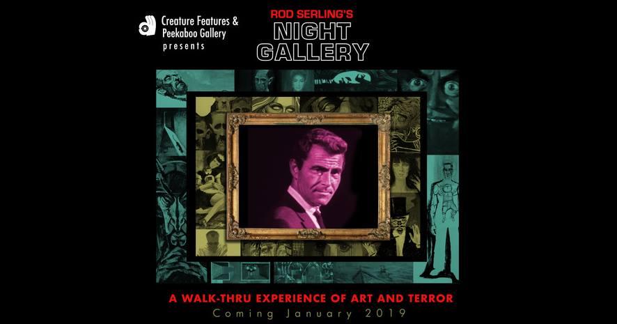Night Gallery exhibit Creature Features