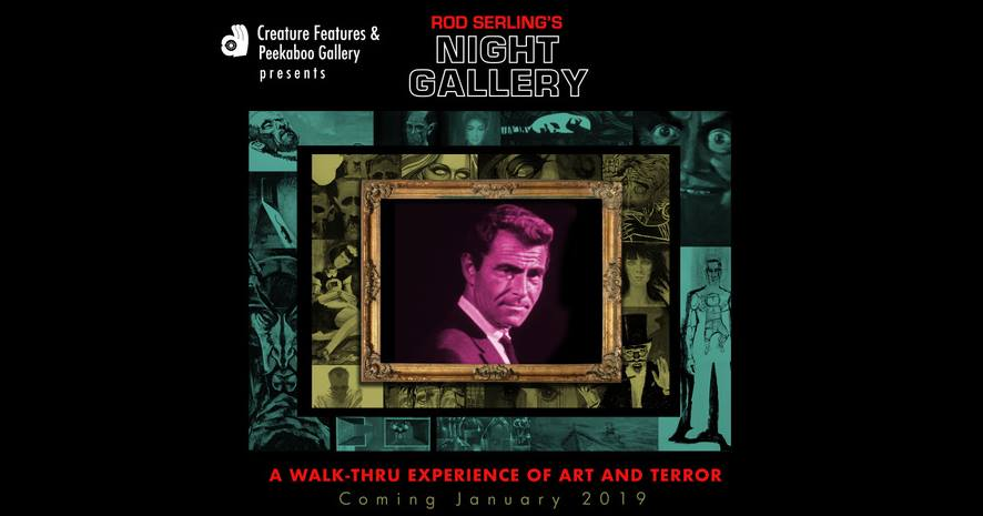 Night Gallery 50th Anniversary Exhibit: Opening Night Reception