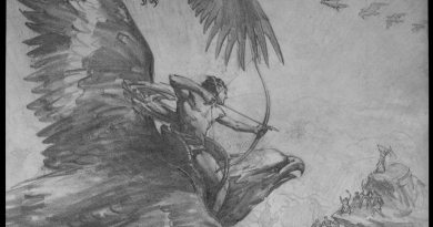 War Eagles preproduction artwork