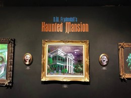 D.W. Frydendall's Haunted Mansion exhibit
