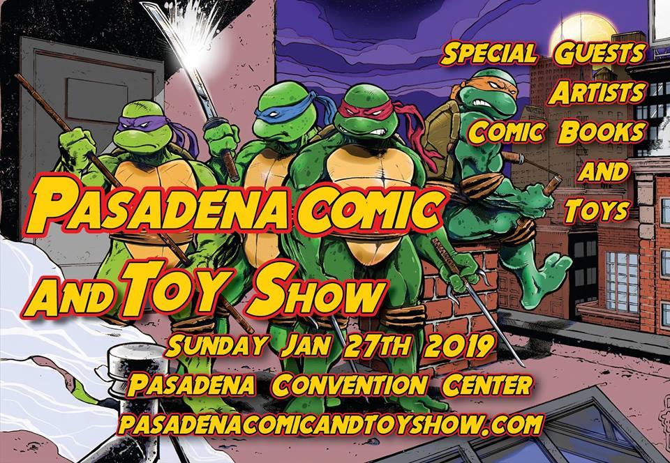 Pasadena Comic Con 2019
