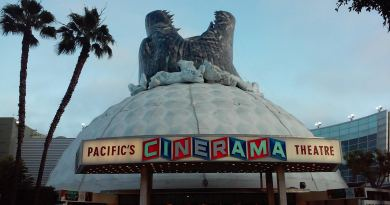 Godzilla Cinerama Dome Hollywood