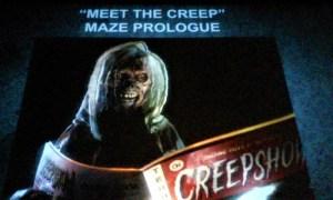Halloween Horror Nights 2019 Creepshow The Creep