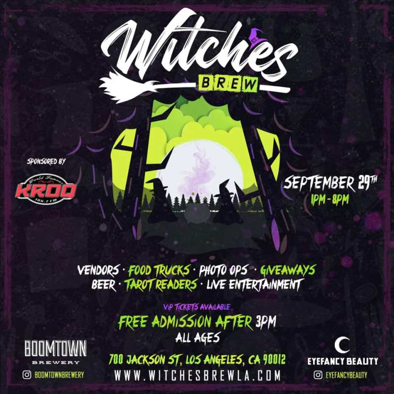 Witches Brew Los Angeles - Magical Market and Brew Fest